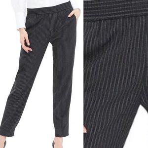 Banana Republic Pinstriped Elastic Waist Pants